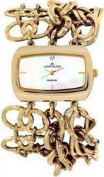 Anne Klein Mother-of-pearl Gold Stainles Steel 10-9262MPGB