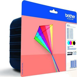 Brother LC223 Cyan/Magenta/Yellow/Black (LC-223VALBPDR)