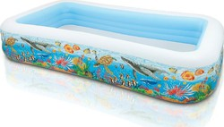 Intex Swim Center Topical Reef Family 58485