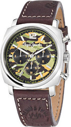 Pepe Jeans Brown Leather Strap R2351111001