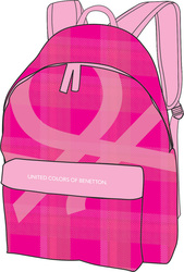 Benetton Checkers 45006 Pink