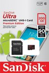 Sandisk Ultra microSDXC 200GB Class 10 with Adapter