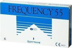 Cooper Vision Frequency 55 Μηνιαίοι 6Pack