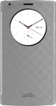 LG Quick Circle Wireless Charging Folio Case Silver (G4)