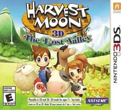 Harvest Moon 3D The Lost Valley 3DS