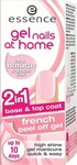 Essence Gel Nails at Home 2in1 French Peel Off Gel Base Top Coat