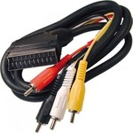 OEM Cable Scart male - 4x RCA male 1.2m