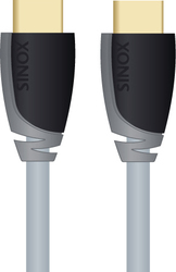 Sinox HDMI Cable with Ethernet HDMI male - HDMI male 1m (SXV1201)