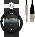 Alpha Audio Cable XLR female - 6.3mm male 3m (190.575)