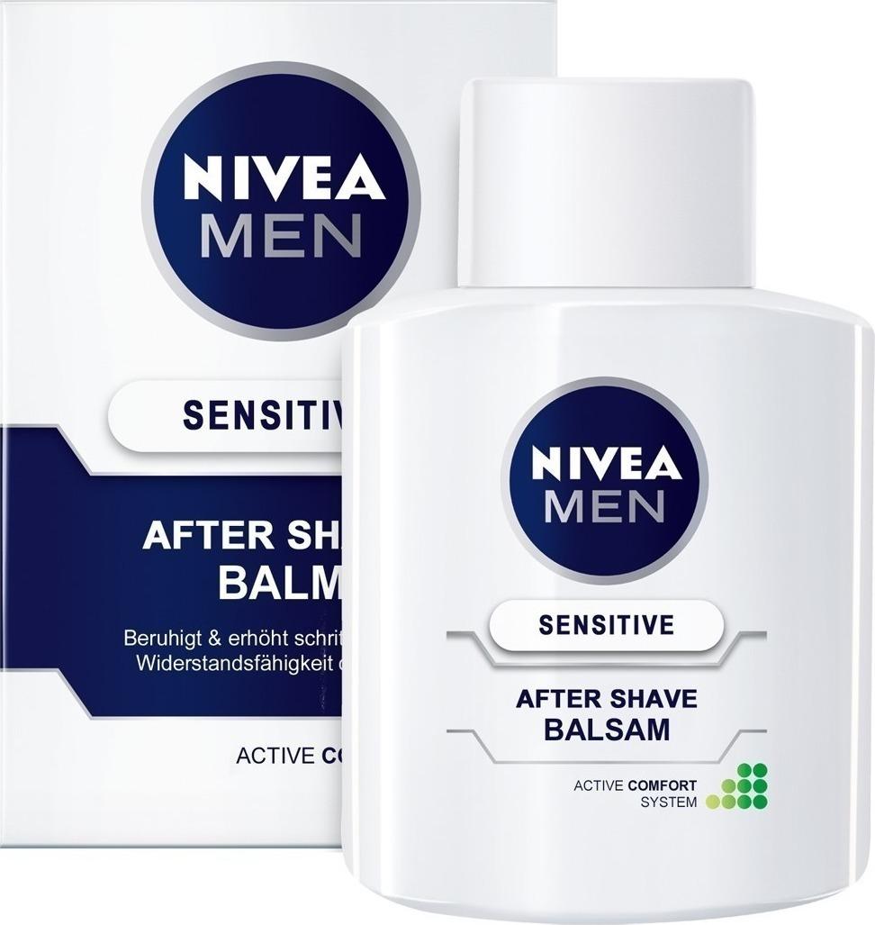 Nivea Sensitive After Shave Balsam with Active Comfort System 100ml - Skroutz.gr