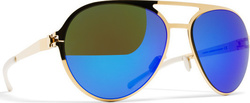 Mykita Gustl F9 Gold / Azure Flash