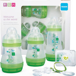 Mam Welcome To The World Gift Set - Green