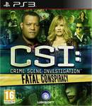 CSI: Crime Scene Investigation Fatal Conspiracy PS3