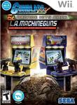 Gunblade NY & L.A. Machineguns Rage of the Machines Arcade Hits Pack Wii