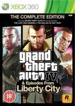Grand Theft Auto IV: The Complete Edition XBOX 360
