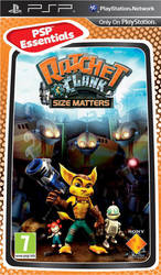 Ratchet & Clank Size Matters (Essentials) PSP