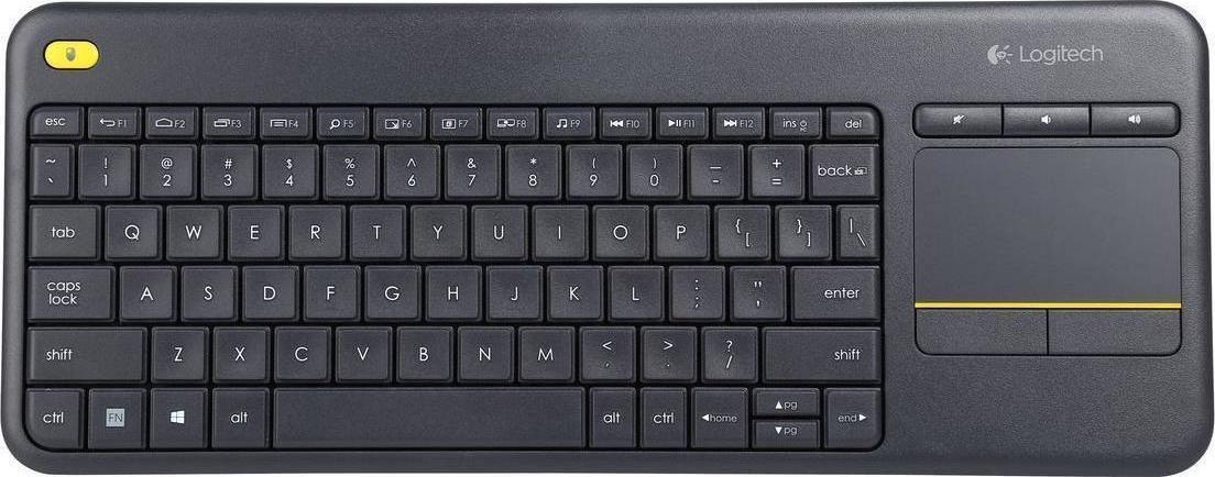 Logitech K400 Plus Black (920-007145) - Πληρωμή και σε έως 36 Δόσεις!!!