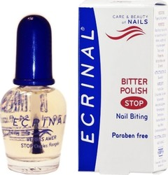 Ecrinal Bitter Polish Stop Nail Biting Solution 10ml