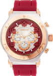 WatchMe Half Moon 01-0006 Dark Red-Gold