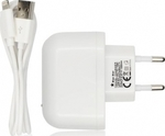 Blue Star Impulse Apple Lightning Cable & Wall Adapter Λευκό (ML003441)