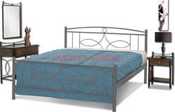 84f86179582 Προσθήκη στα αγαπημένα menu Ναυσικά Κρεβάτι Διπλό Μεταλλικό 150x200cm