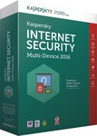Kaspersky Internet Security Multi-Device 2016 (5 Licence, 1 Year)