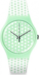 Swatch Mint Love Three Hands Rubber Strap
