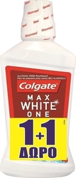 Colgate Max White One 1+1 (2x250ml) 500ml