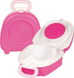 My Carry Potty Pink & White
