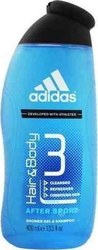Adidas After Sport 3 In 1 Shower Gel 400ml