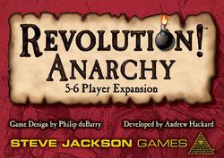 Steve Jackson Games Revolution Anarchy 5-6 Player Expansion