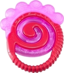 Difrax Combi Teether - Cooled Pink 6m+ 1τμχ