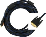 De Tech Cable DVI-D male - HDMI male 3m (18190)