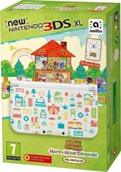 Nintendo New 3DS XL White & Animal Crossing Happy Home Designer