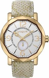 Vogue Diamond Beige Leather Strap 70281.3A