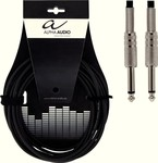 Alpha Audio Cable 6.3mm male - 6.3mm male 6m (190.005)