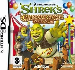 DreamWorks Shrek's Carnival Craze DS