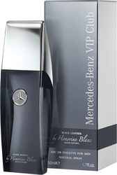 Mercedes Benz Vip Club Black Leather Eau de Toilette 50ml