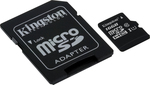 Kingston microSDHC 16GB U1 with Adapter (45MB/s)