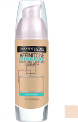 Maybelline Affinitone Mineral Foundation SPF18 10 Ivory 30ml