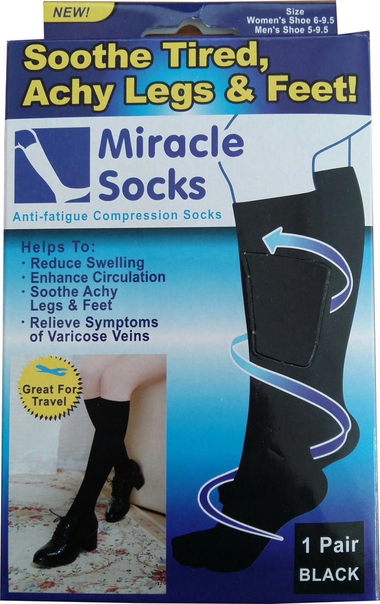 Προσθήκη στα αγαπημένα menu Miracle Socks Μαύρες f4786b78bb5