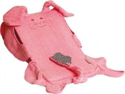 Minene Baby Bath Support Rabbit Pink με Γάντι