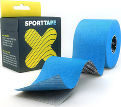 Sporttape Flex Kinesiology Tape 5cm x 5m Blue