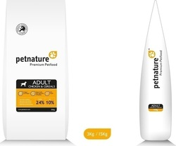 Petnature Chicken & Cereals 15kg