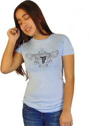 T-SHIRT ΠΑΙΔΙΚΟ TAKEPOSITION, LOGO SILVER WINGS, 7 ΧΡΩΜΑΤΑ, 801-0001