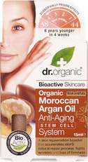 Dr.Organic Moroccan Argan Oil Anti-Aging Stem Cell System 15ml