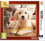 Nintendogs + Cats Golden Retriever & New Friends (Selects) 3DS