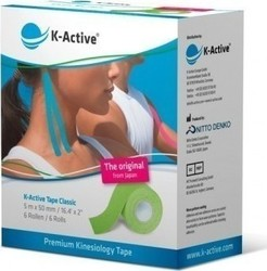 K-Active Tape Classic 5cmX5m Green