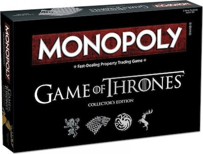 Winning Moves Monopoly: Game of Thrones Collector's Edition