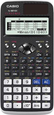 Casio Αριθμομηχανή Επιστημονική FX-991EX 12 Ψηφίων σε Μαύρο Χρώμα